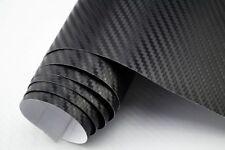 11,5€/m² 3D Carbon Folie schwarz  blasenfrei 50 x 152 cm Klebefolie Carbon Optik