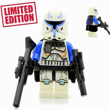 Captain Rex - Custom Collectible Lego Star Wars Movie Minifigure Limited Edition