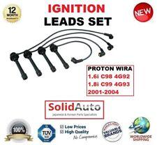 FOR PROTON WIRA 1.6i C98 4G92 1.8i C99 4G93 2001-2004 IGNITION LEADS SET