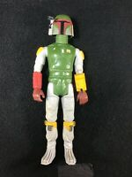 "VINTAGE 1979 KENNER STAR WARS 14"" BOBA FETT ACTION FIGURE W/HELMET EYE SCOPE"