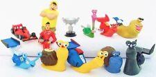 TURBO 12 Figure Set DREAMWORKS PVC TOY Cake Topper THEO Chet WHIPLASH Skidmark!