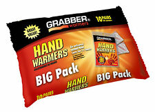 Grabber Warmers Big Pack 7 + Hours Hand Warmers, 20 Grabber 10 Pairs