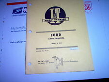 8000 Vintage Ford Tractor I&T Shop Service Manual 8000