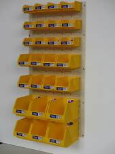 Fischer Plastic Products and Brownbuilt Stor-Pak Boxes / Metal Louvre Panel SP10