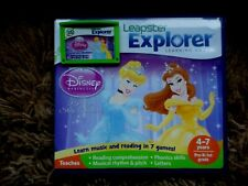 Leapfrog Leapster Explorer DISNEY PRINCESS  with CASE Leap Pad 2,3,GS, XDi Ultra