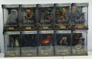 Harry Potter magical creatures The Noble collection 1-10 set Dobby Nagini 2016