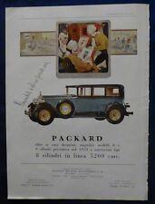 MAX - PUBBLICITA' EDITORIALE - AUTO PAKARD - 1924