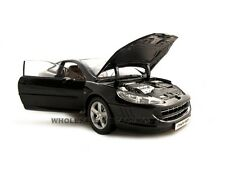 PEUGEOT 407 COUPE BLACK 1:18 DIECAST MODEL CAR BY NOREV 184752