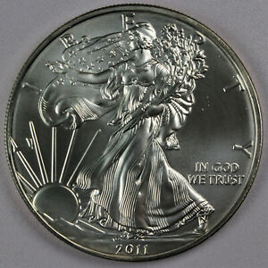 2011 American Silver Eagle 1 oz .999 Silver Bullion Coin