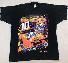 Vintage 1990s Nascar T Shirt XXL 2XL Ricky Rudd Double Sided All Over Print Tide