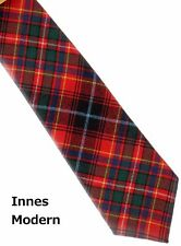 Tartan Tie Clan Innes Modern Scottish Wool Plaid