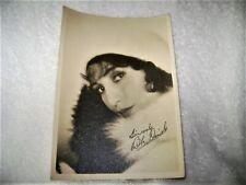 Antique Vintage Bebe Daniels Glamour Signed Photo Stunning