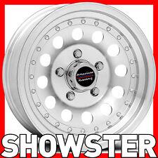 "4 x 15x7 15"" American Racing wheels Outlaw II Holden  HQ HJ HX WB HZ HX GTS"
