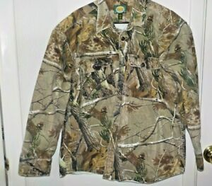 Men's Size XL XLarge Cabela's Outdoor Gear Realtree Heavy Hunting Shirt