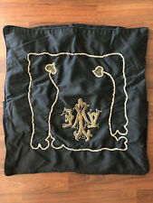 """Jean Francois Lesage Broderie� Paris Hand Embroidered Couture Large Pillow Sham"