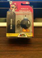 World of Nintendo BOB-OMB 2.5 in. Figure Jakks Pacific Series 2-3 WON *IN HAND!*