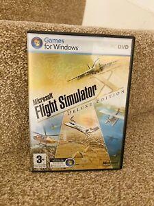 Microsoft Flight Simulator X Deluxe (PC) Complete VGC