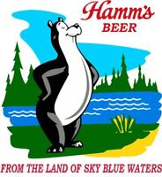 Hamms Beer Classic Retro - T-Shirt NEW