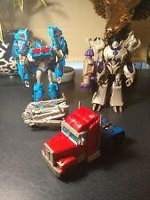 Transformers Prime Voyager Lot Optimus, Megatron, Magnus