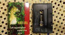 Nirwana Kassette tape einzelne all Entschuldigungen/Vergewaltigung mich/mv by