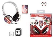 Lettore MP3 8Gb FLAG AMERICA con cuffia stereo inclusa XTREME