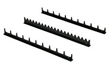 Ernst 6011 20 Tool Screwdriver Organizer Rail Kit - Black USA