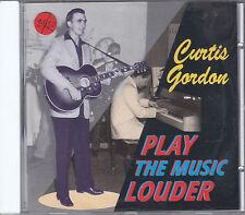 CURTIS GORDON - play the music louder CD