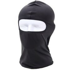 Full Mask lycra Balaclava Ultra-thin Outdoor Cycling Ski Neck Face Protection Bl