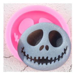 Jack Skellington Mould Skull Face Nightmare Before Christmas Halloween Sugarcraf