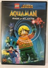 NEW LEGO DC SUPER HEROES AQUA MAN RAGE OF ATLANTIS DVD FREE WORLD WIDE SHIPPING