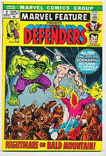 MARVEL FEATURE No. 2 - DEFENDERS!  DR. STRANGE! HULK! ONE OWNER,