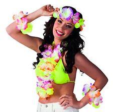 Boland 52368 - Kostümset Hawaii 1 Stirnband Kette und 2 Armbänder