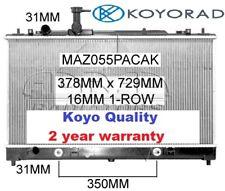 MAZDA 6 GG/GY 2002-7/2005 SERIES 1 SEDAN & HATCH RADIATOR *KOYO QUALITY*