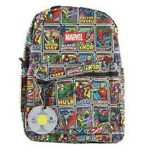 Marvel Comics Avengers Print Backpack School Book Bag Back to School Superhero