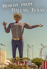 "Dallas Texas Big Tex Fridge Magnet 3.25""x2.25"" Collectibles (PMD10018)"