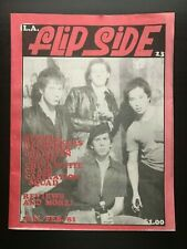 FLIPSIDE FANZINE ISSUE #23 MAGAZINE CRASS CHINA WHITE CHRISTIAN DEATH VENTURES