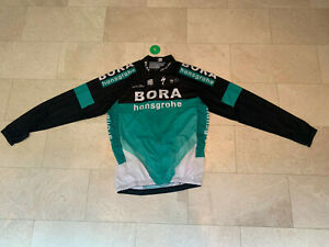 2018 Bora Hansgrohe Light Weight Long Sleeve Cycling Jersey size XL