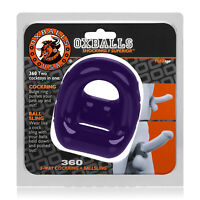 OxBalls 360 Cockring And Ballsling Eggplant Adult Sex Toy Dildo Dong