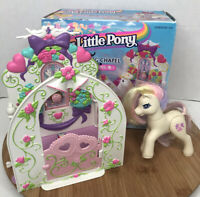 My Little Pony Dainty Dove Wedding Chapel 1997 Vintage Play Set and Box Hasbro