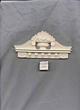 DOOR PEDIMENT / Trim / Header UMT8 -  dollhouse miniatures 1/12 scale polyresin