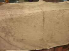 """New listing Dog Bed Replacemrnt Cover 46 X 40"""" Fleece Lined Has Zipper For Washing (Suede)"""