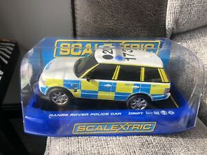 SCALEXTRIC HORNBY RANGE ROVER POLICE CAR C2833 IN BOX USED