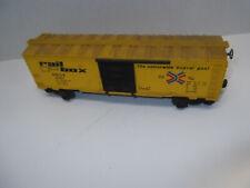 Lionel RAIL BOX Boxcar O Gauge