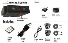 Mobile School Bus/Tours Bus Surveillance 3 Camersa System with 320Gb Hdd