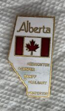 Alberta Canada Province Lapel Souvenir PIN Vintage