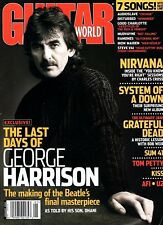Guitar World MagazineJanuary 2003 - George Harrison, Nirvana, System of a Down