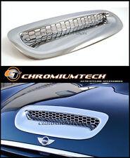 BMW MINI Cooper S Convertible R52 CHROME Bonnet Hood Vent Air Intake Scoop Cover