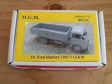MGM 080-214 1/72 Resin WWII German Ford Matford 1943 5T truck