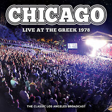 CHICAGO New Sealed 2018 UNRELEASED LIVE 1978 LOS ANGELES CONCERT CD