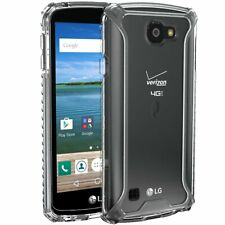 LG Optimus Zone 3/ K4 / Spree Case,Poetic TPU Bumper Protective Cover Clear